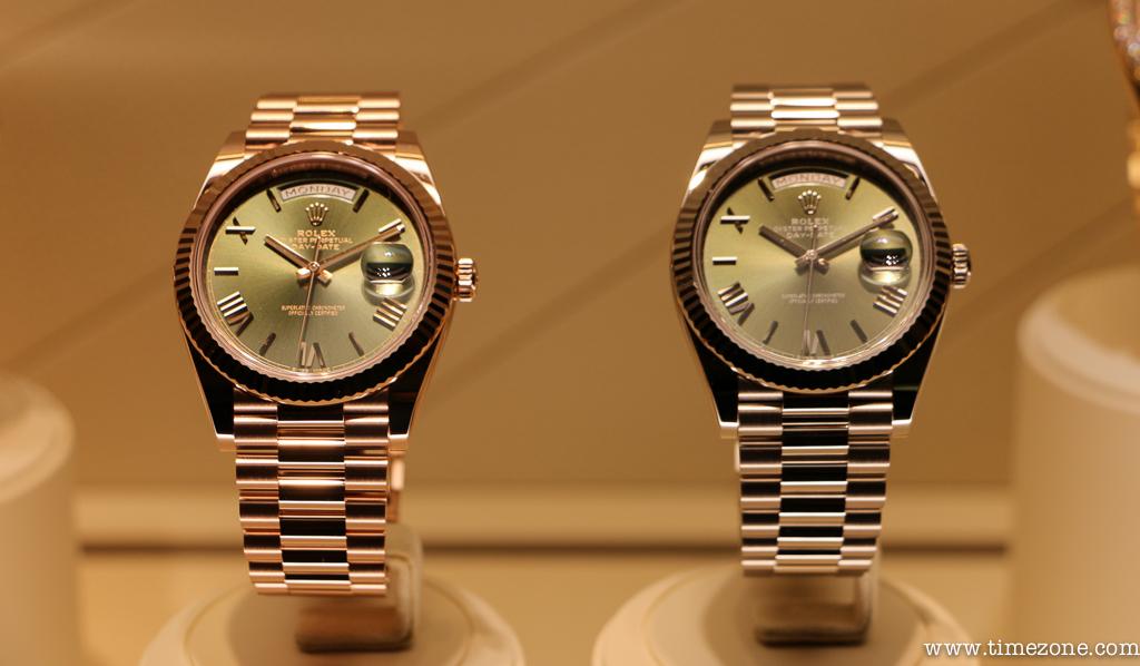 Rolex Day-Date 228235, Rolex Day-Date 228239, Rolex olive green dial