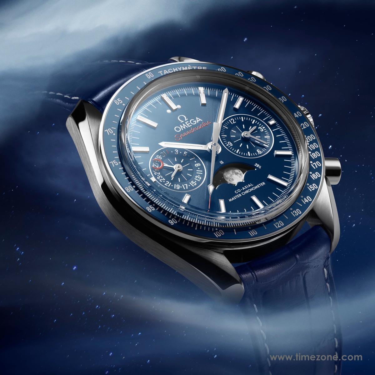 Speedmaster Moonphase, Omega Speedmaster Moonphase Chronograph Master Chronometer, Omega Speedmaster Moon, Speedmaster Moonphase 9904, Omega calibre 9904, caliber 9904, Omega 9904