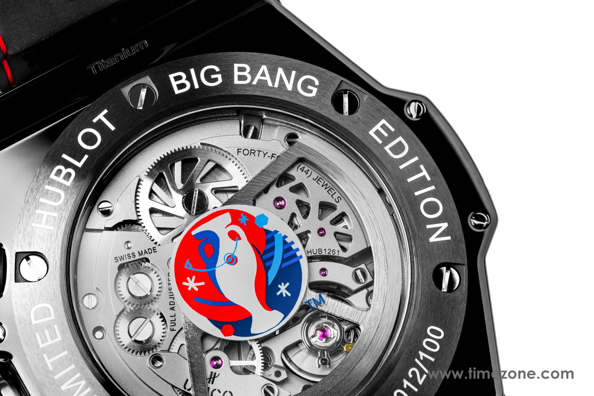 Hublot Big Bang Unico Retrograde Chronograph, Big Bang Unico Retrograde Chronograph UEFA EURO 2016, Hublot Unico Retrograde Chronograph