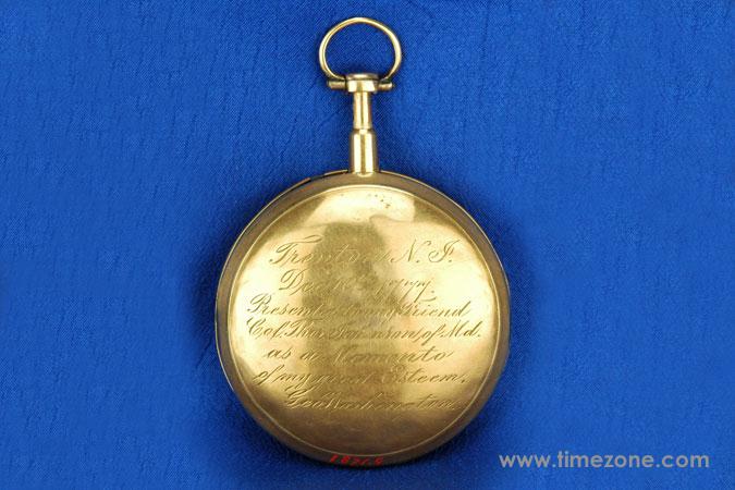 George Washington watch, George Washington Swiss watch, Mount Vernon Swiss Watch, George Washington Colonel Thomas Johnson