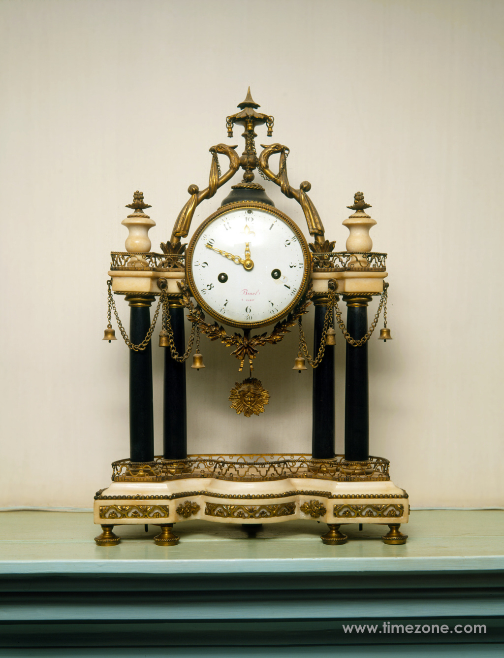 George Washington mantle clock, Mount Vernon mantle clock