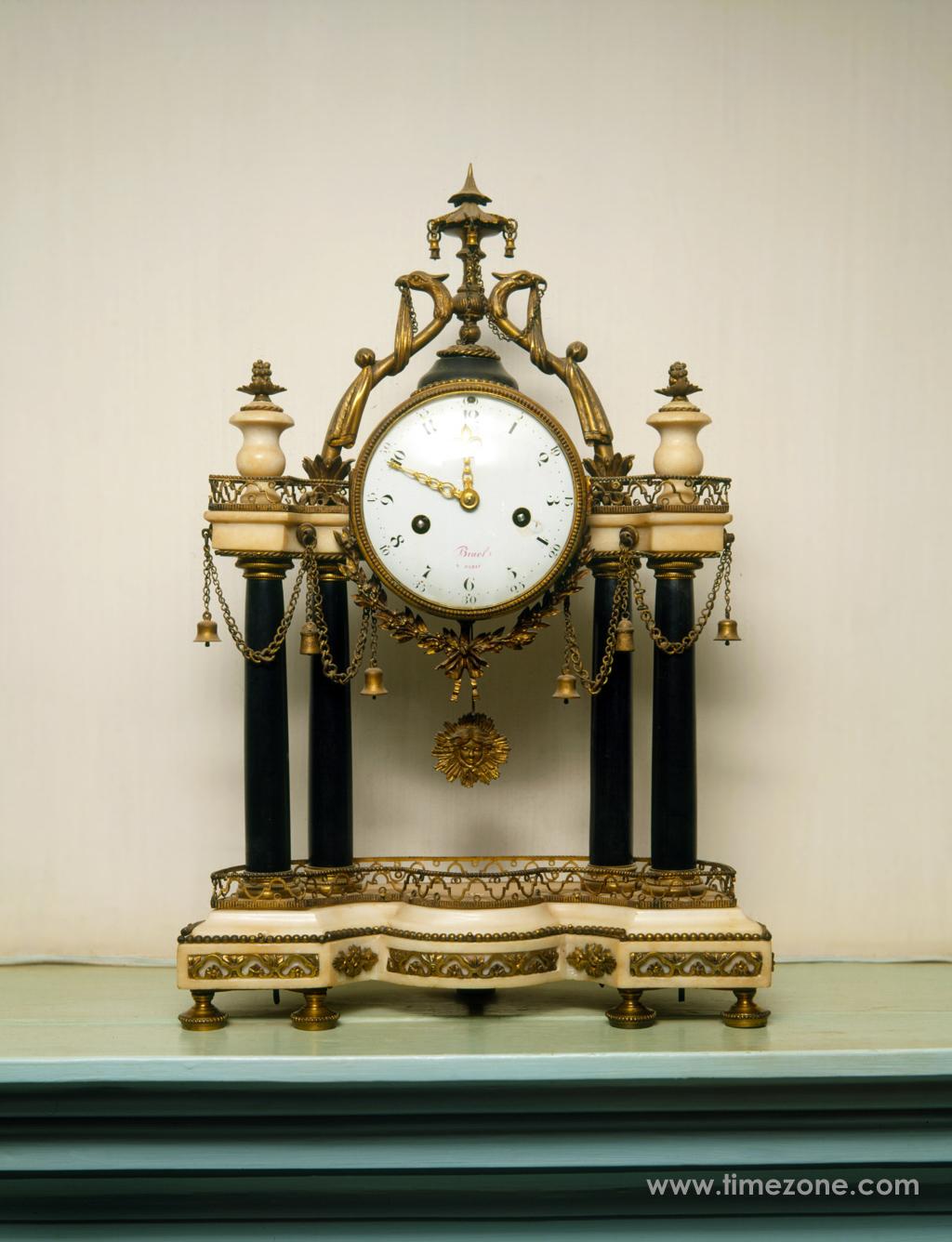 George Washington mantle clock, Mount Vernon mantle clock