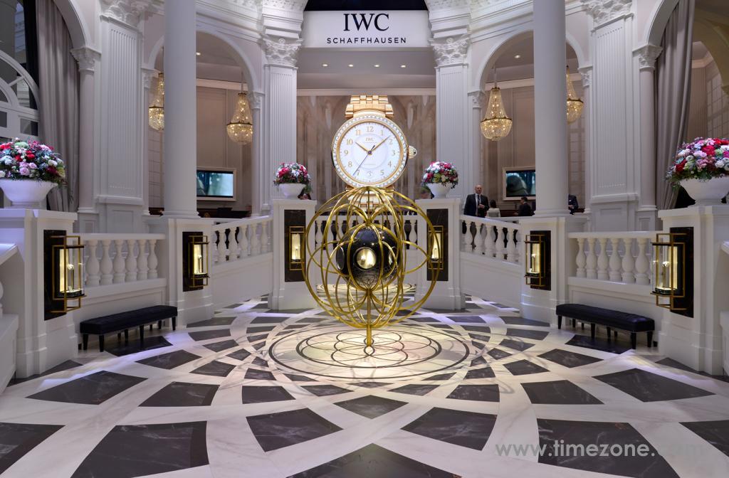 IWC Booth at SIHH 2017, IWC Da Vinci, IWC SIHH 2017, Da Vinci SIHH