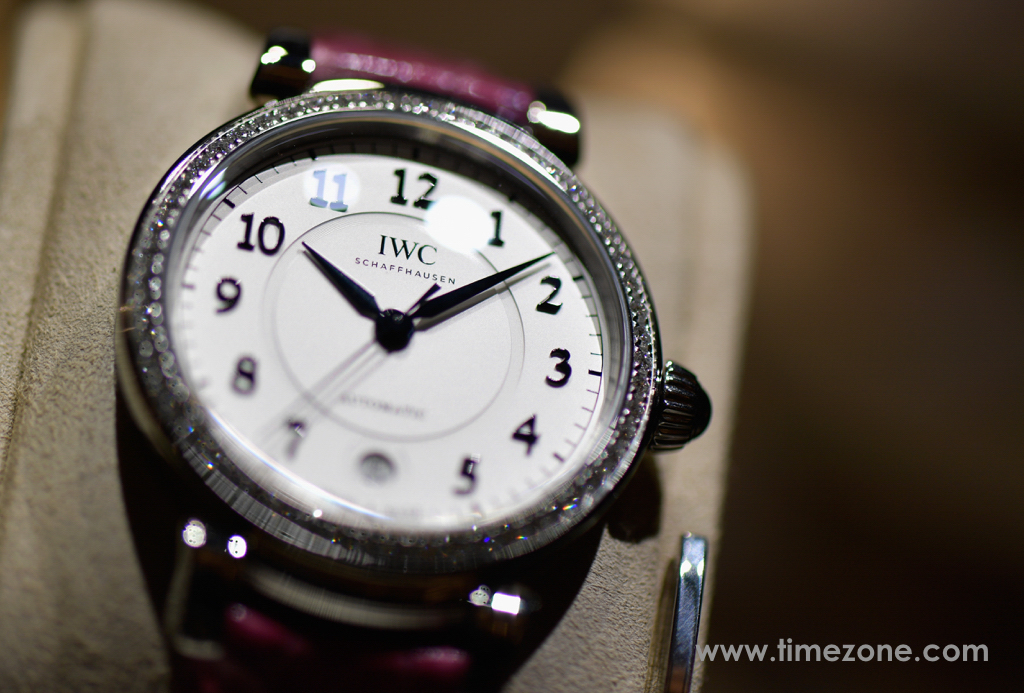 Da Vinci Automatic 36 IW458308, IWC IW458308, IWC Booth at SIHH 2017, IWC Da Vinci, IWC SIHH 2017, Da Vinci SIHH
