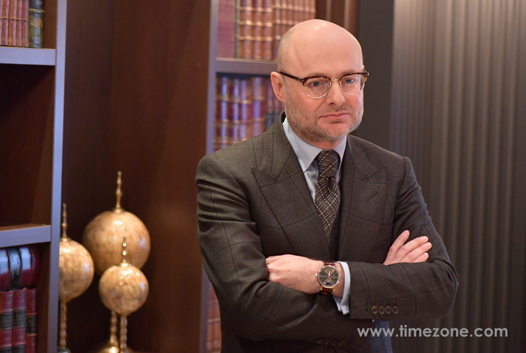 Georges Kern, Georges Kern Richemont Head of Watchmaking, IWC Booth at SIHH 2017, IWC Da Vinci, IWC SIHH 2017, Da Vinci SIHH