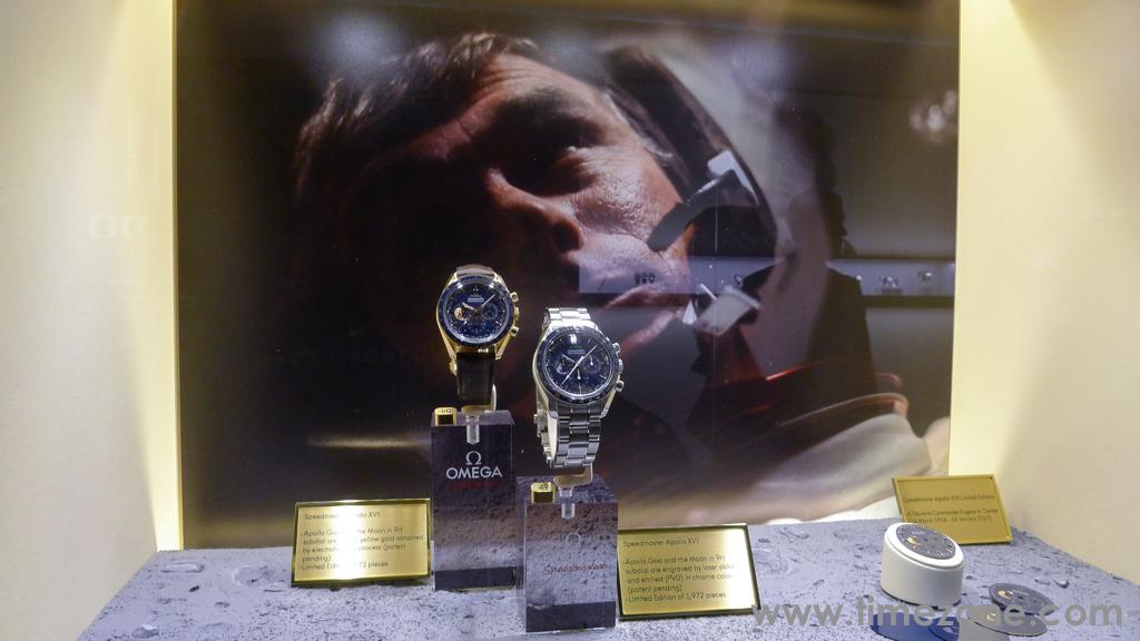 Speedmaster Apollo XVII, Omega Speedmaster Apollo XVII, Omega Eugene Cernan, Speedmaster Eugene Cernan, Omega Booth Baselworld 2017, Omega Booth Basel