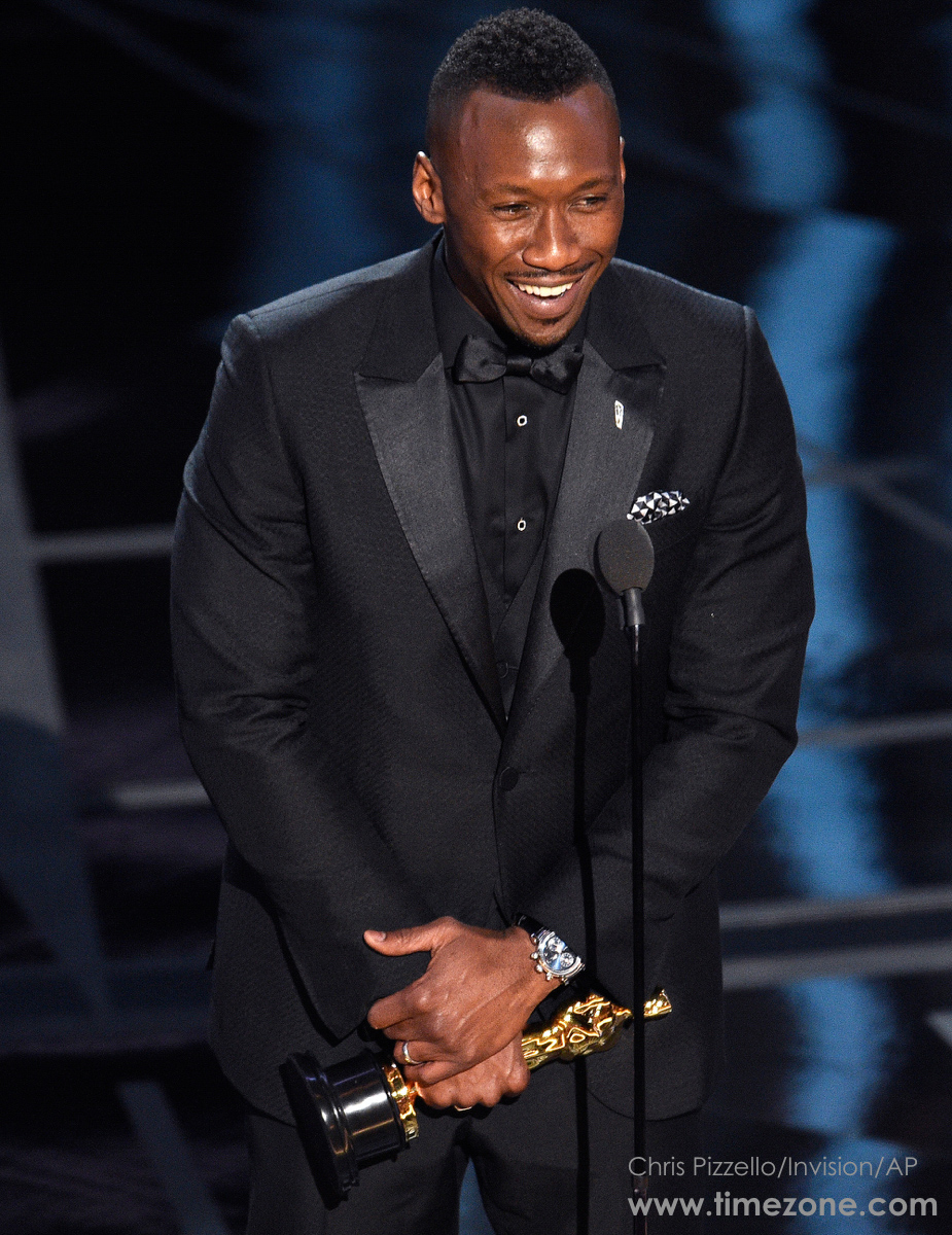 Mahershala Ali IWC, Oscars IWC Laureus, IWC IW393402, Oscars IWC Da Vinci Chronograph Laureus Sport for Good Foundation