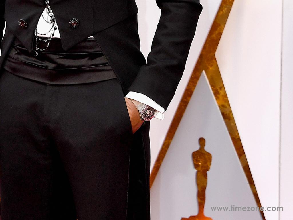 Pharrell Oscars, Oscars Richard Mille,  Pharrell RM 056 Tourbillon Sapphire,  Richard Mille RM-56 Tourbillon Sapphire