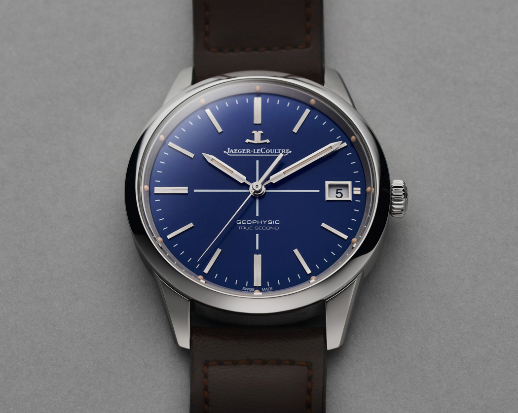 Jaeger-LeCoultre Geophysic True Second Limited Edition, Jaeger-LeCoultre Geophysic True Second Blue, Geophysic True Second Blue, Ref. Q8018480, JLC Q8018480