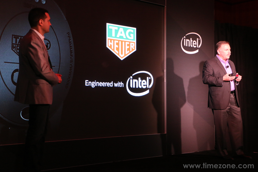 TAG Heuer Modular 45, Jerry Bautista, Jerry Bautista Intel, Intel Vice-President of New Technology Group, Tom Foldesi Jerry Bautista