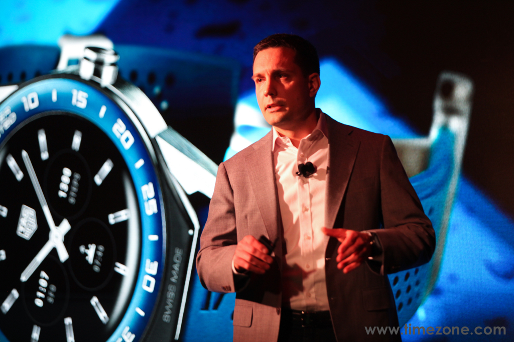 TAG Heuer Modular 45, Tom Foldesi, Tom Foldesi TAG Heuer Head of Connected Division