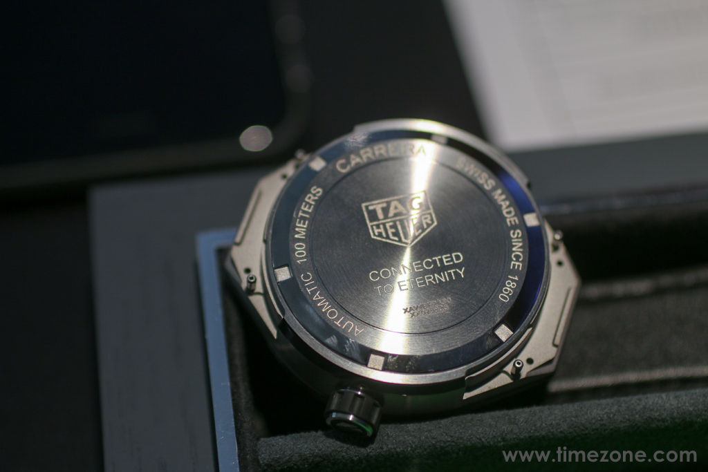 TAG Heuer Modular 45, Calibre 5 Automatic module, connected to eternity