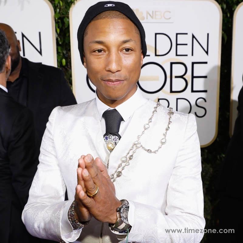 Pharrell Richard Mille, Pharrell Williams Richard Mille RM-031, Pharrell Williams RM031, Richard Mille Golden Globes