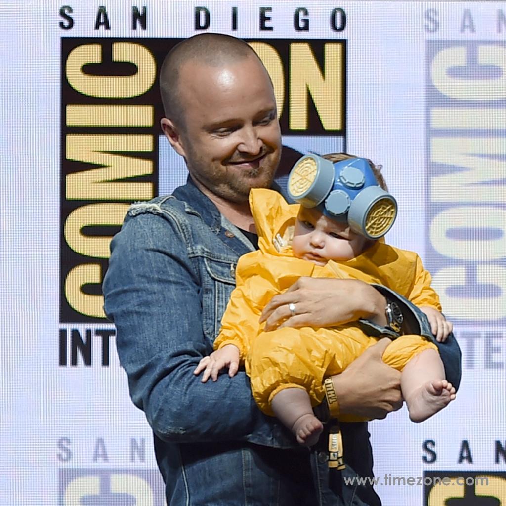 Aaron Paul Rolex, Breaking Bad Rolex, Aaron Paul Datejust, Aaron Paul, Rolex Comic-Con