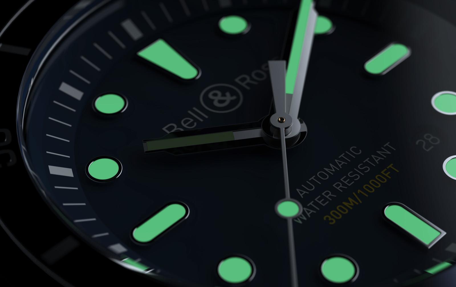 BR03-92 Diver Blue, BR0392 Diver, BR0392-D-BU-ST/SRB