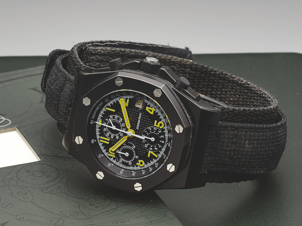Emmanuel Gueit, Alberto Tomba Royal Oak Offshore, Gueit AP ROO, End of Days Offshore, Ref. 25770