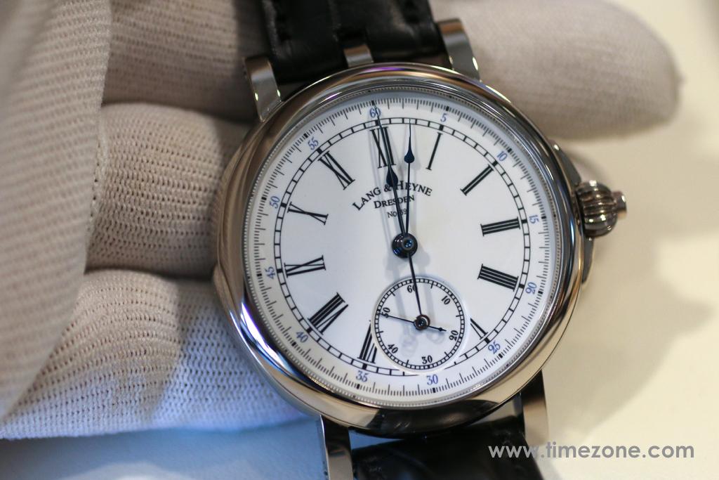 Lang Heyne Albert, Lang Heyne chronograph, Lang Heyne monopusher chronograph, Lang Heyne Caliber IV