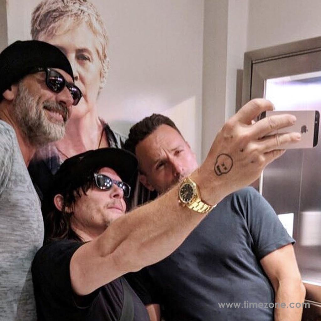 TWD Comic-Con, Jeffrey Dean Morgan Rolex, Norman Reedus Rolex Daytona, Walking Dead Rolex