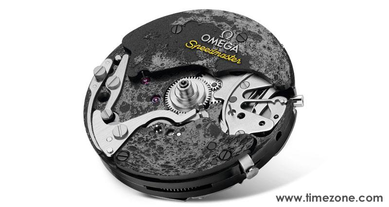 Omega Caliber 1869, Omega 1869, Omega-Speedmaster-DSOTM-Apollo-8 macro, Speedmaster 8 dial macro, 311.92.44.30.01.001