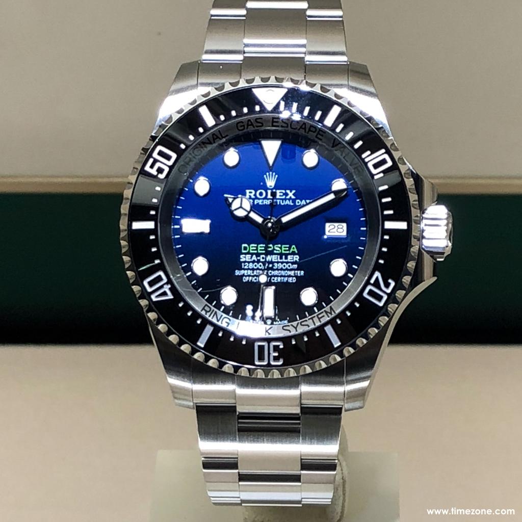 Rolex Deepsea D-Blue, D-Blue dial, Rolex Sea-Dweller, 126711CHNR