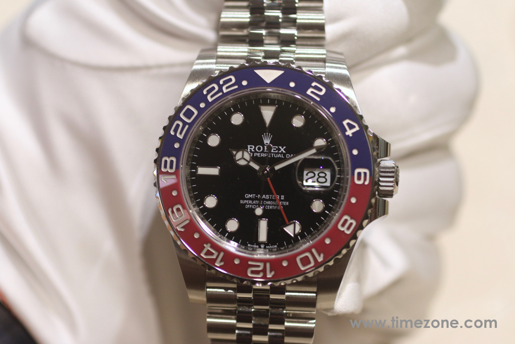 GMT-Master II Oystersteel with Jubilee, 126710BLRO, Ref. 126710BLRO/69200, Rolex Beverly Hills Preview 2018