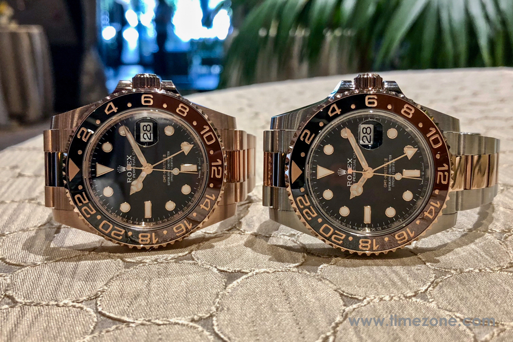GMT-Master II Everose, 126715CHNR, Ref. 126715CHNR, Rolex Beverly Hills Preview 2018