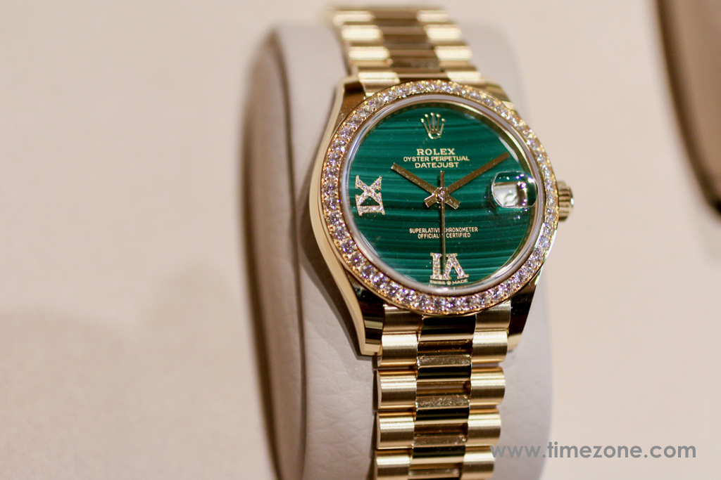 Rolex Datejust 31 Malachite, Datejust 31 Malachite, 278288RBR, Ref. 278288 RBR/83368, Rolex Beverly Hills Preview 2018