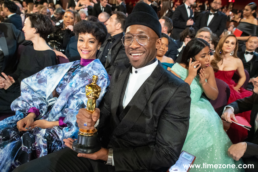 Mahershala Ali Cartier,  Mahershala Ali Cartier Santos Skeleton, Oscars Santos de Cartier Skeleton, Academy Awards Cartier