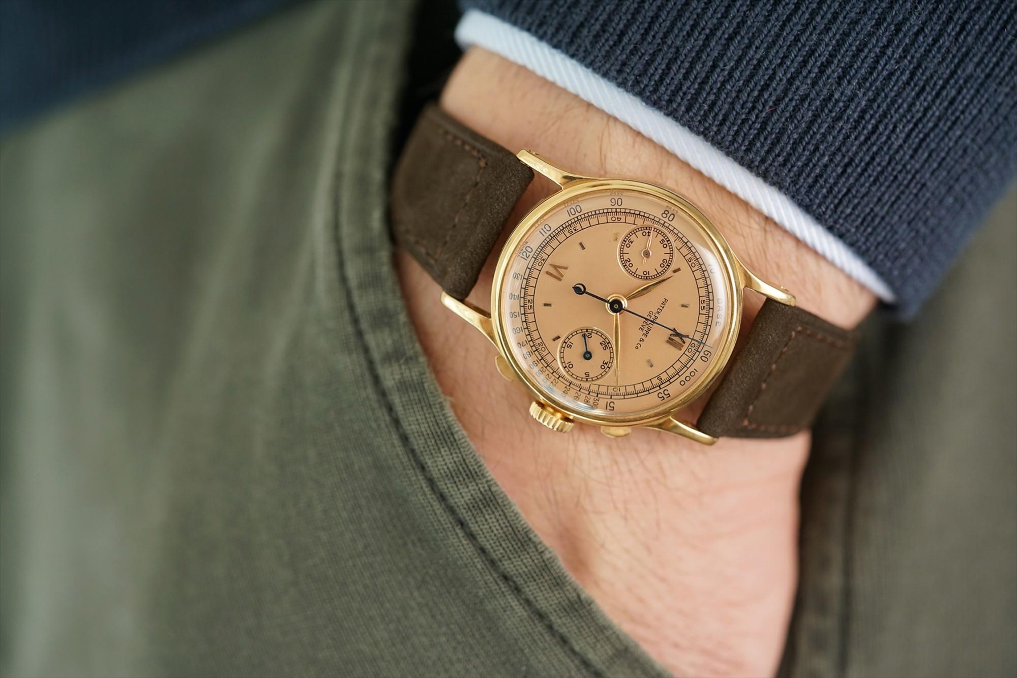Patek Philippe Ref. 1436 split seconds chronograph, Patek 1436, Patek split seconds, Patek rattrapante