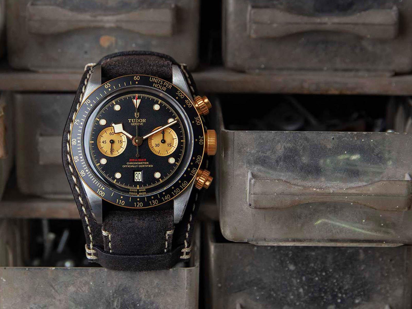 Tudor Black Bay Chrono S&G, Black Bay two-tone, Black Bay steel gold, Black Bay Chrono S&G, MT5813, Tudor MT5813
