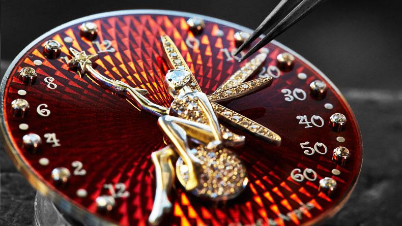 Poetic Complication Feerie, Lady Arpels Feerie watch, VCARO3NX00, Van Cleef Feerie watch