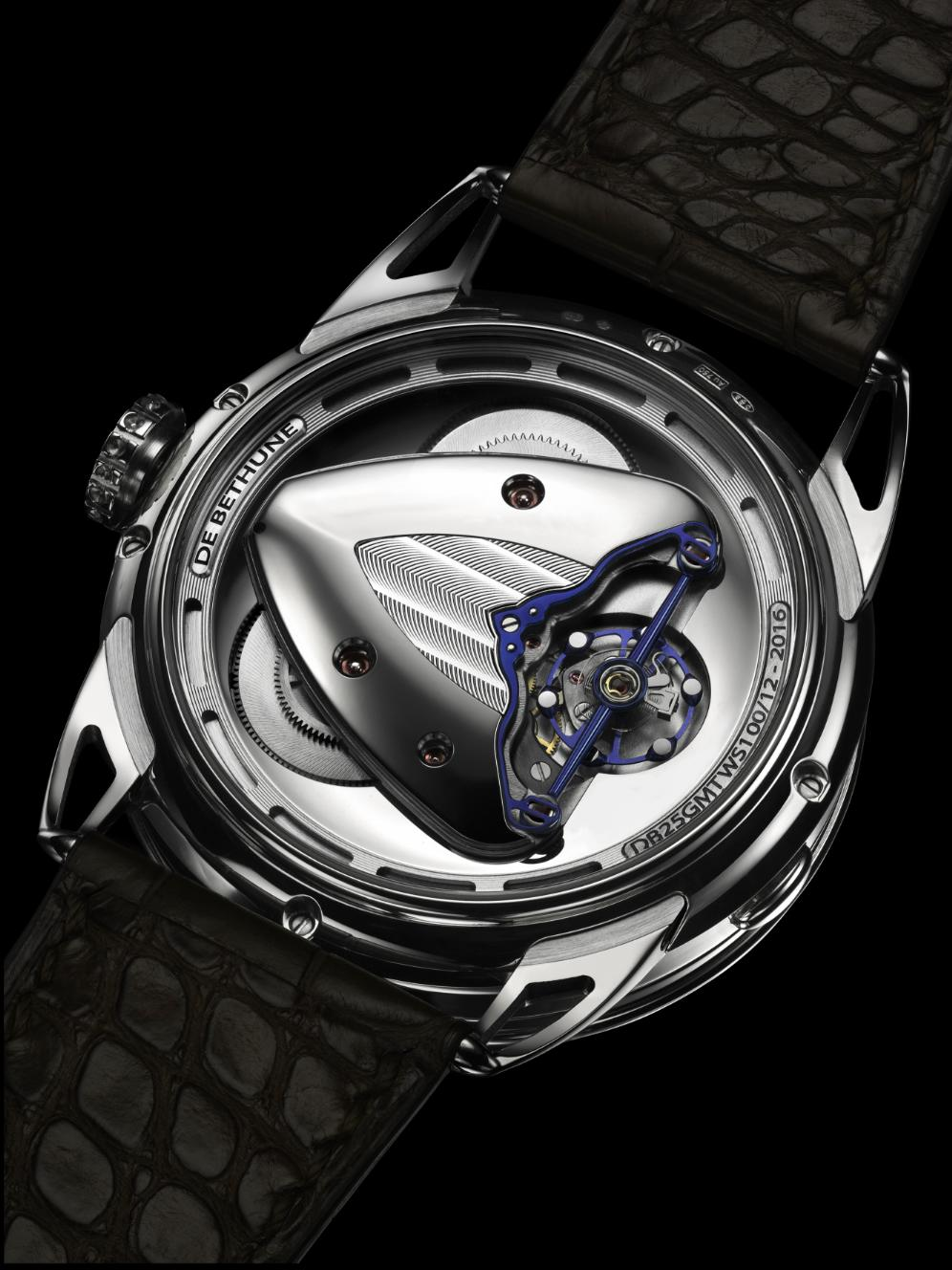 De Bethune DB25 World Traveller, DB25 World Traveller, Debethune DB25, Debethune DB25 World Traveller
