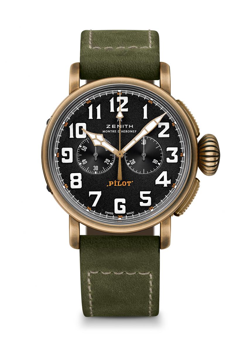 Zenith Pilot Bronze, Zenith Pilot Extra Special Bronze, Zenith Heritage Pilot Extra Special Bronze Chronograph