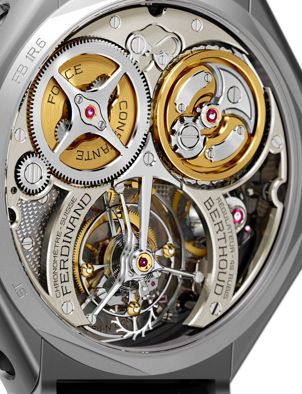 Chronometre Ferdinand Berthoud FB 1R.6-1 Regulator, FB 1R.6 Regulator, Berthoud FB 1R.6 Regulator, Berthoud FB 1R.6-1 Regulator, Berthoud Chronometer