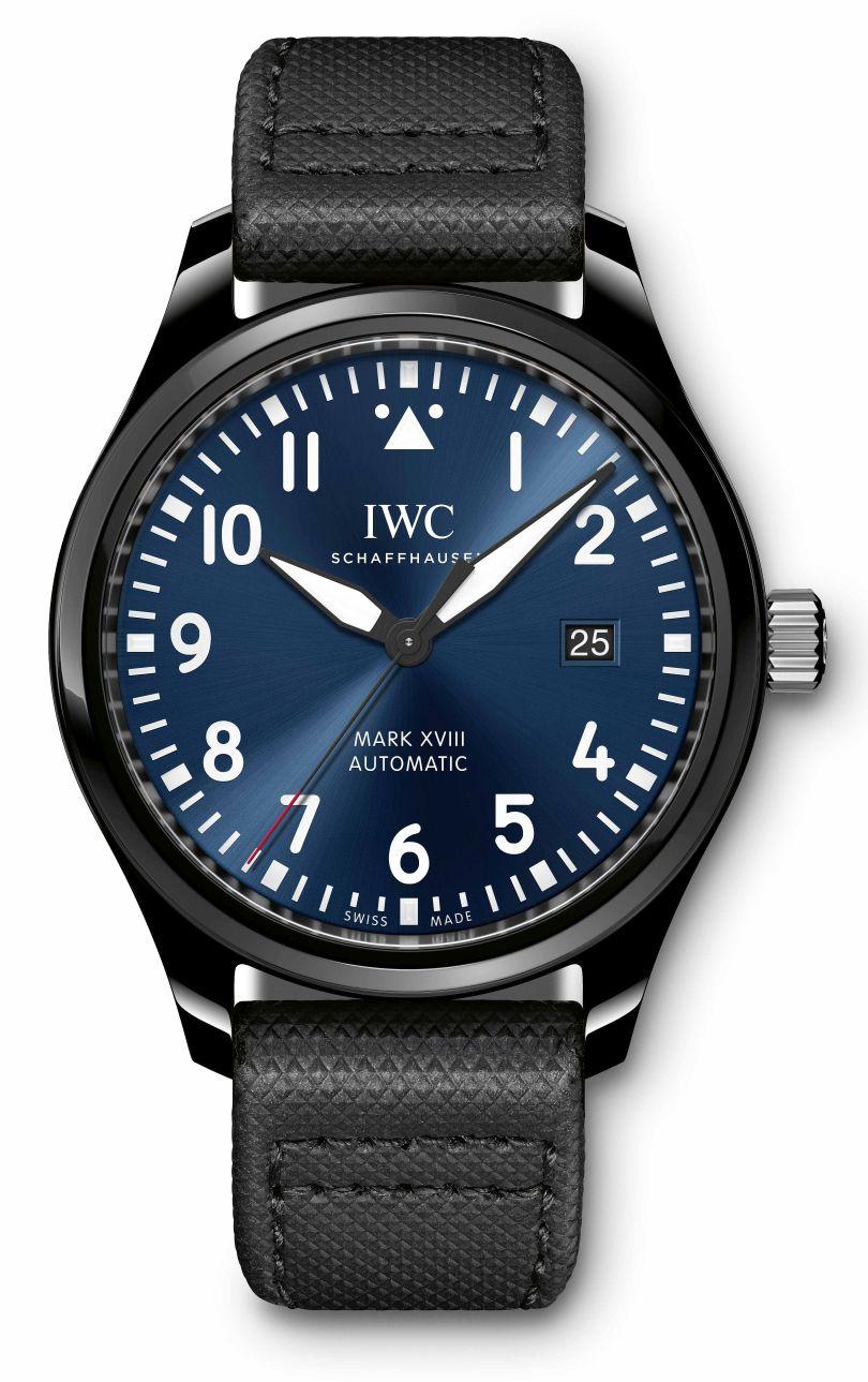 IWC Mark XVIII Laureus Sport, IWC Pilot's Watch Mark XVIII Edition Laureus Sport for Good Foundation
