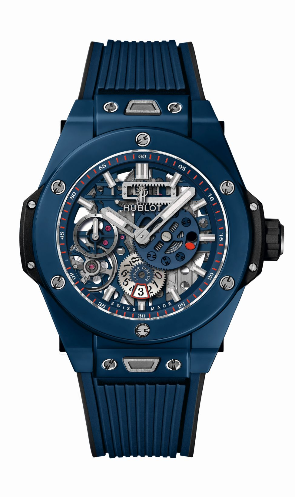 Hublot Big Bang Meca-10 Blue Ceramic, Hublot Meca-10