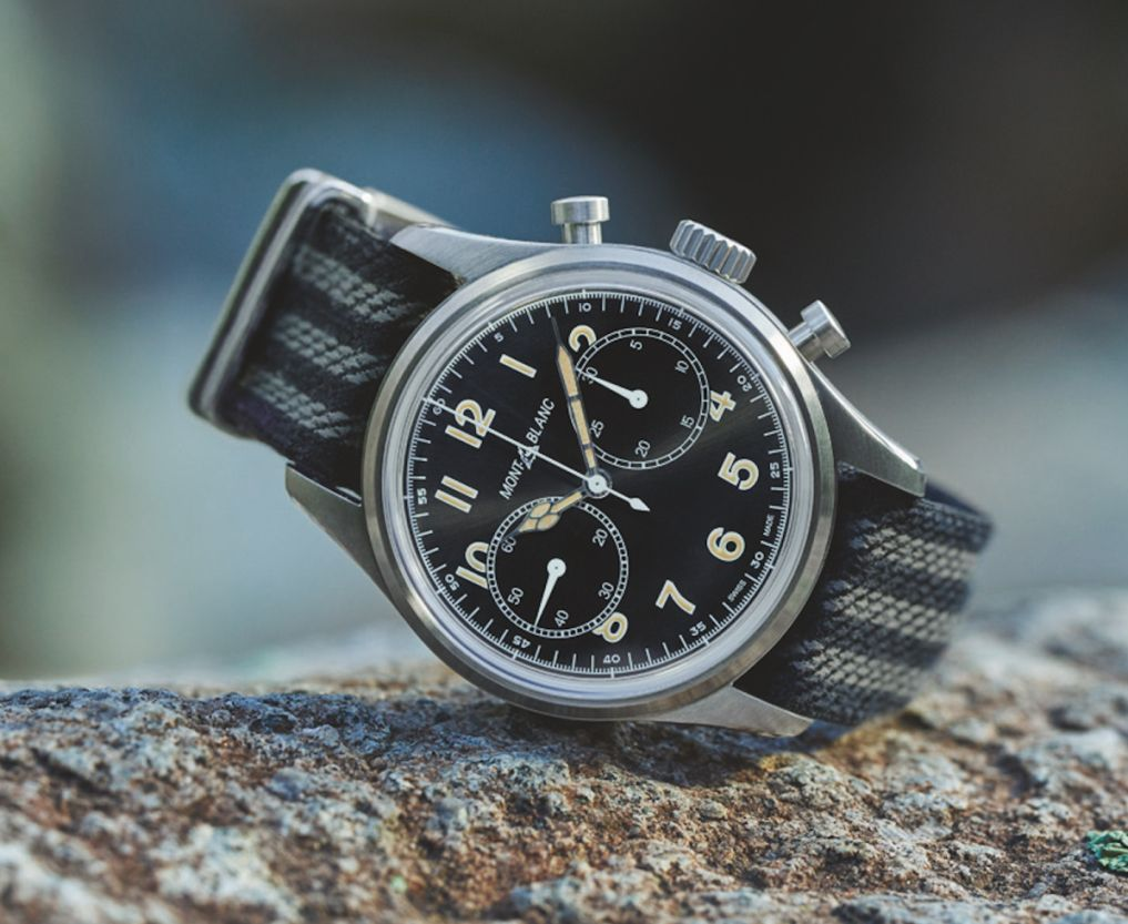 Montblanc 1858 Automatic Chronograph, Montblanc Chronograph