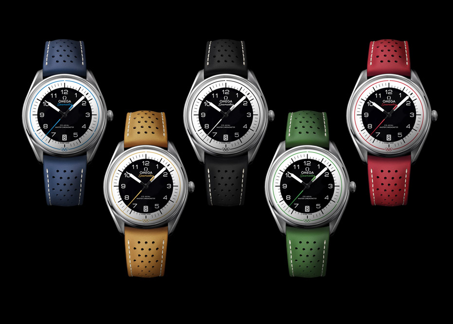 Omega's new Seamaster Olympic Games Collection 18omlym1