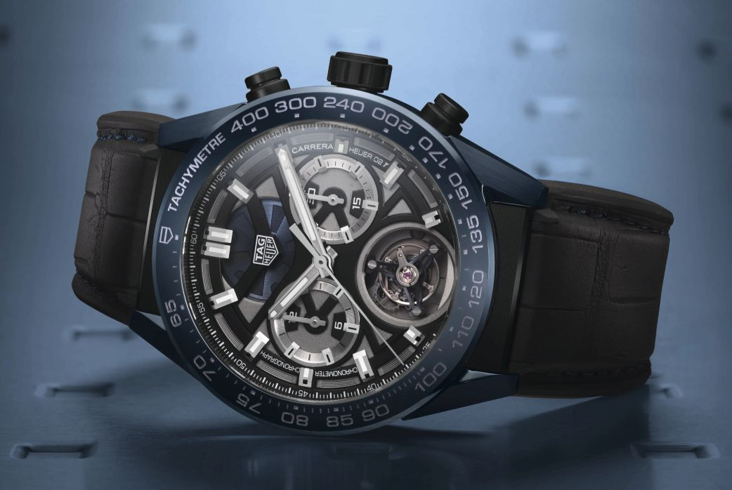 neue uhr tag heuer carrera chronograph tourbillon. Black Bedroom Furniture Sets. Home Design Ideas