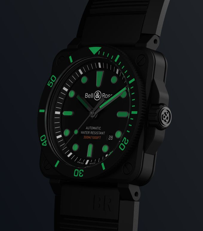 Bell-Ross-BR03-92-Diver-Black-Ceramic, Bell & Ross BR 03-92 Diver Black Ceramic, Bell Ross BR03-92 Diver Black Ceramic, BR03-92 Diver Black Ceramic, Bell Ross Ceramic