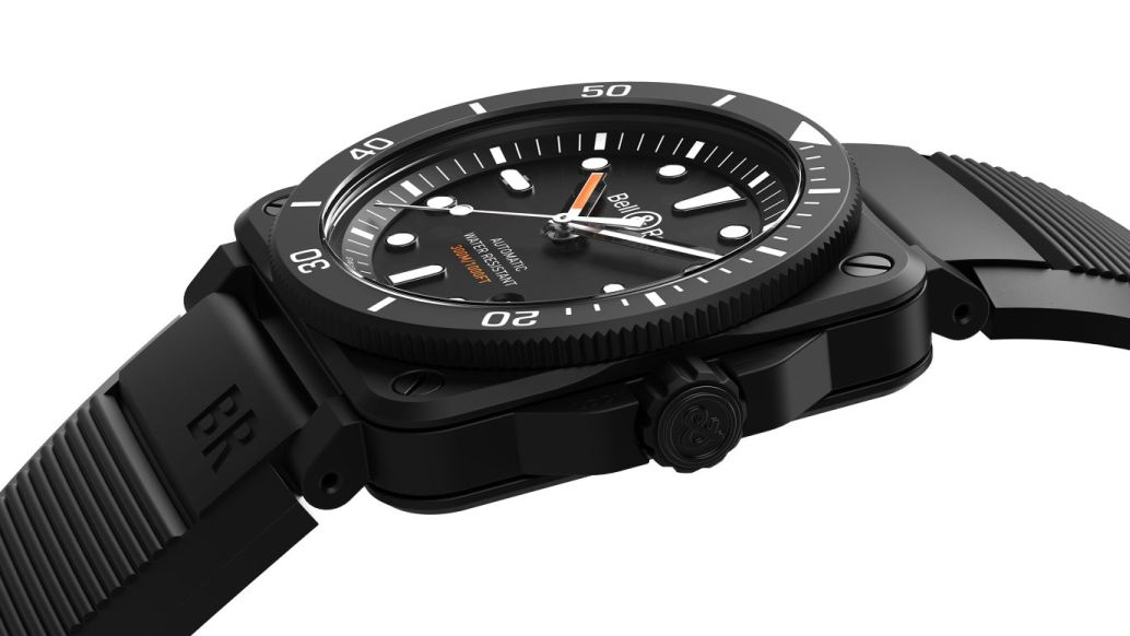 Bell & Ross BR 03-92 Diver Black Ceramic, Bell Ross BR03-92 Diver Black Ceramic, BR03-92 Diver Black Ceramic, Bell Ross Ceramic