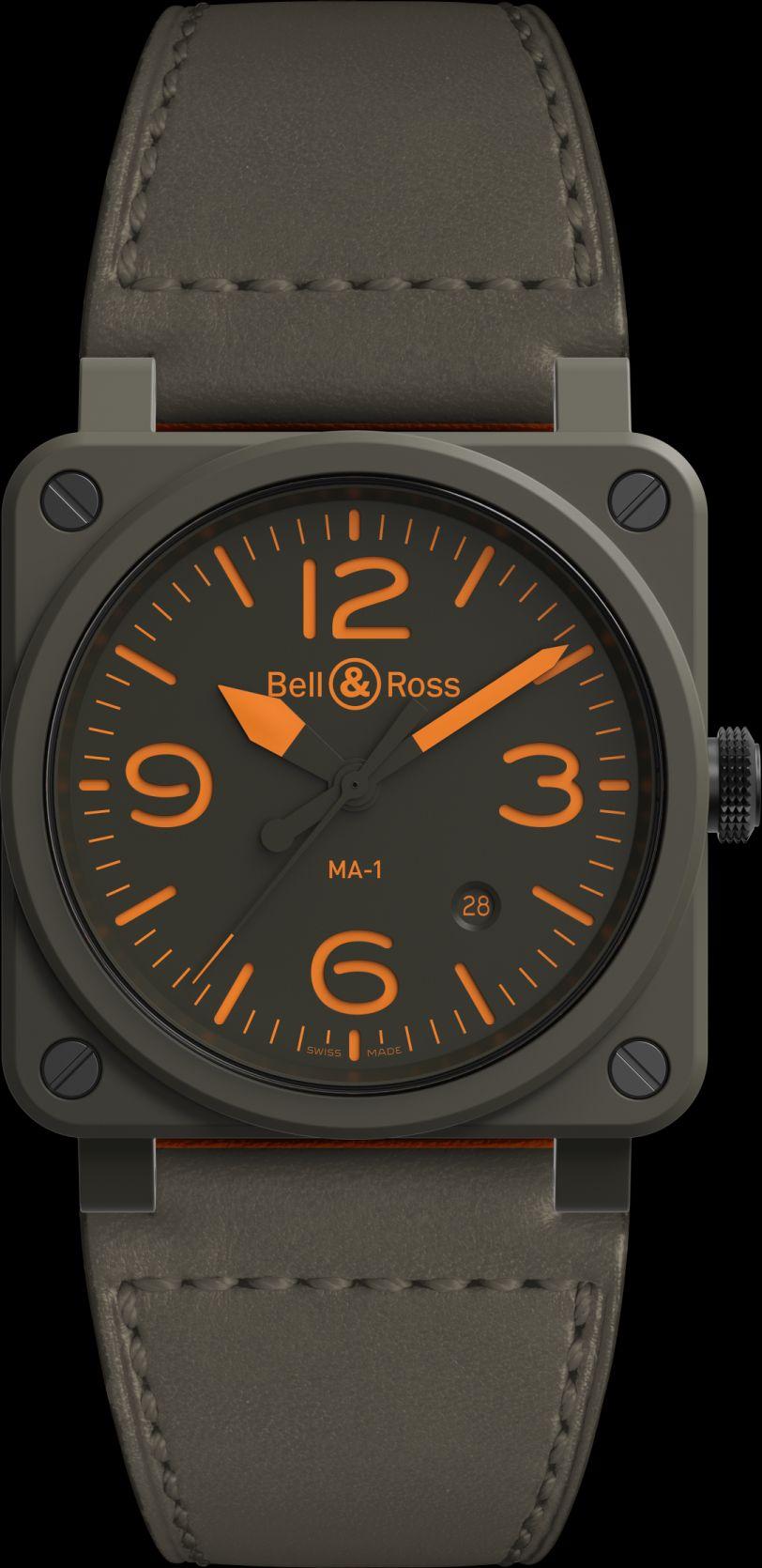 Bell & Ross BR 03-92 MA-1, Bell Ross BR 03-92 MA-1, Bell-Ross-MA-1, Bell-Ross-MA1, Bell Ross BR03-92 MA-1, BR03-92 MA-1, BR03-92 MA1