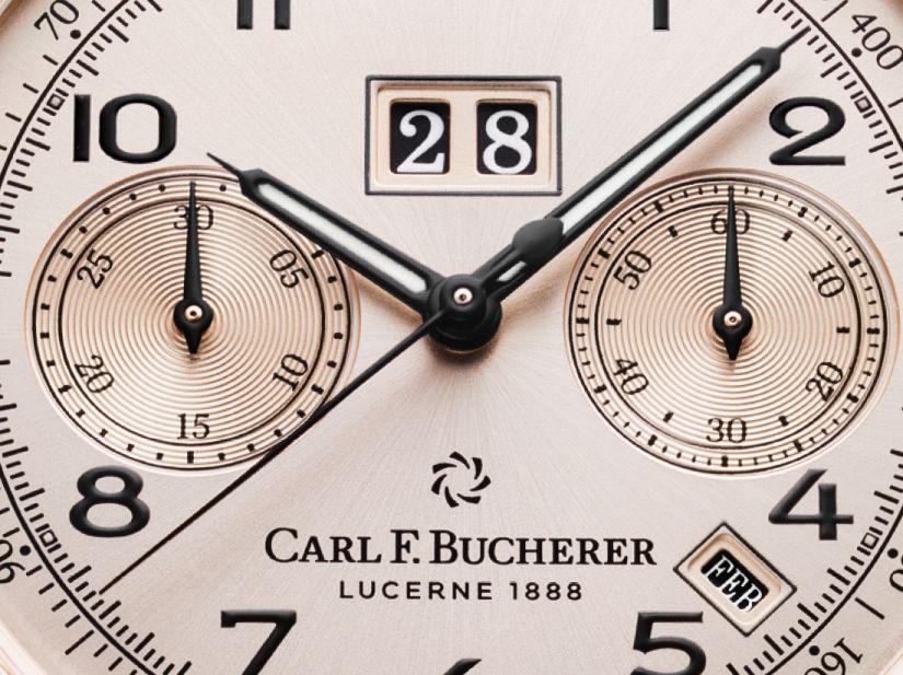 Carl F. Bucherer Heritage Bi-Compax Annual, Bucherer Heritage Bi-Compax Annual, Bucherer Bi-Compax Annual, Bucherer Bi-Compax