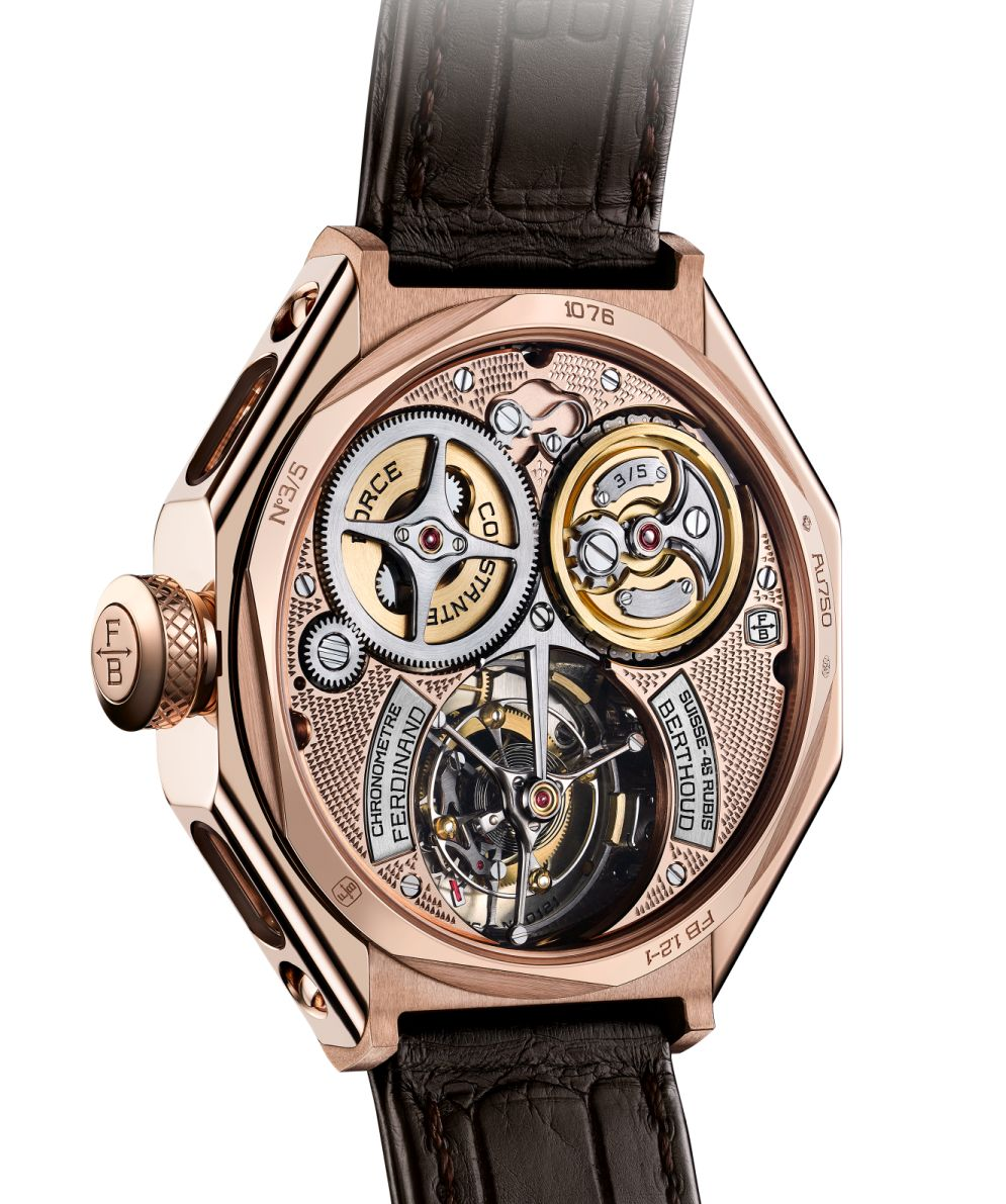 Ferdinand Berthoud Chronometer FB1 Oeuvre d'Or, FB1 Oeuvre d'Or, Ferdinand Berthoud, FB1, FB1.1-2