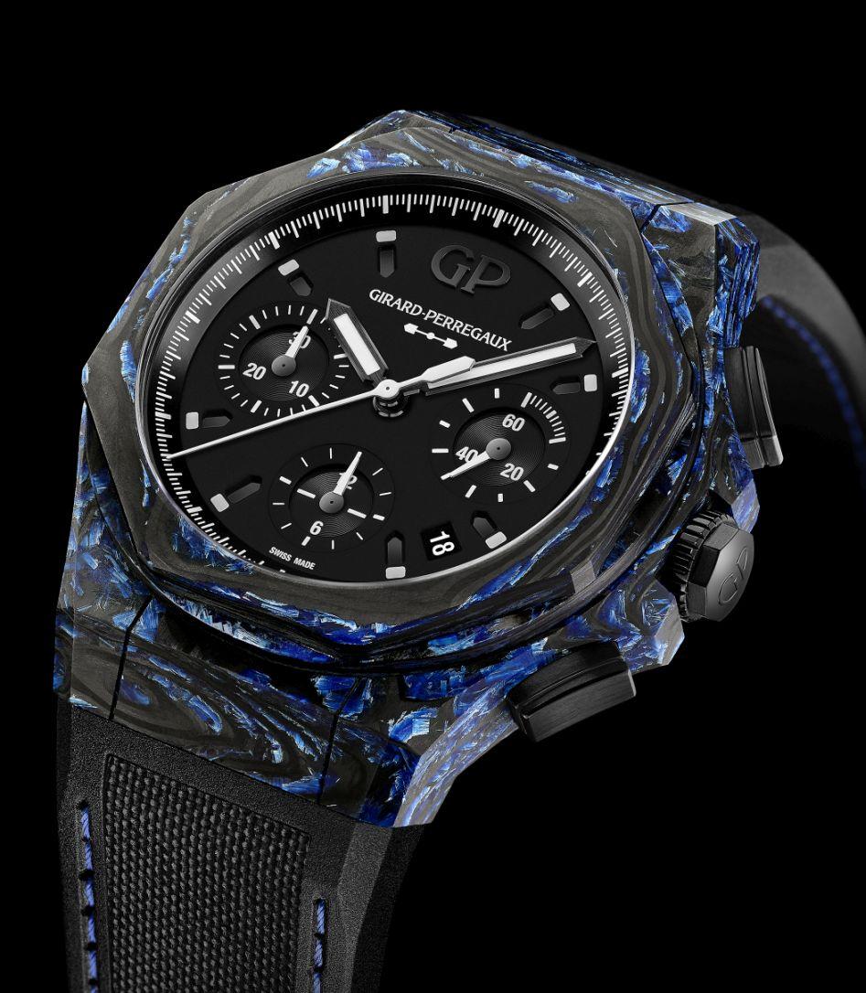 Girard-Perregaux Laureato Absolute Rock, Girard-Perregaux carbon glass
