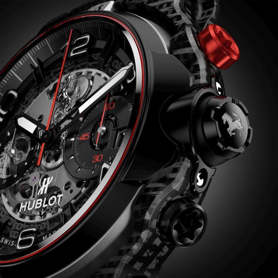 Hublot Classic Fusion Ferrari GT, Hublot Ferrari, Classic Fusion Ferrari, Classic Fusion Ferrari GT