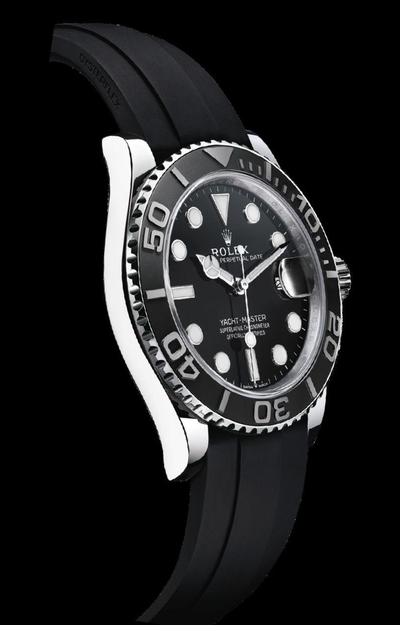 Rolex Yacht-Master 42, Rolex 3235, Yacht-Master, YachtMaster, Rolex Yacht, Oysterflex, Chromalight, Cerachrom, 226659, Rolex, 226659, Caliber 3235