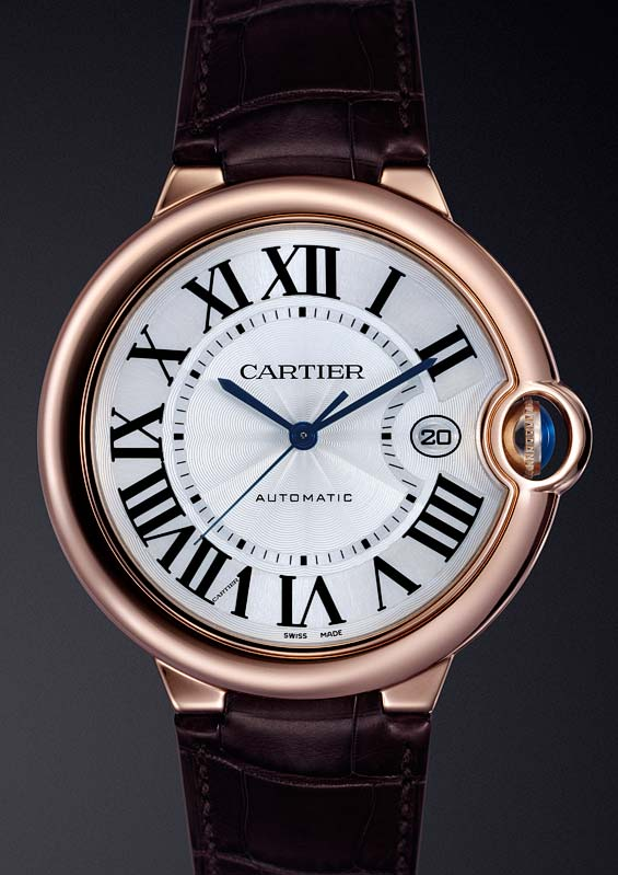 Cartier Ballon Bleu sur cuir 23585