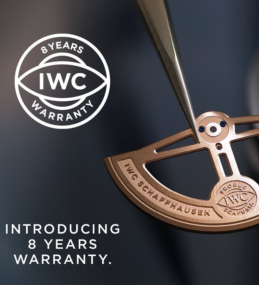 8-years-iwc, IWC 8 Years Warranty, IWC International Warranty, IWC 8 Year Warranty, IWC Warranty