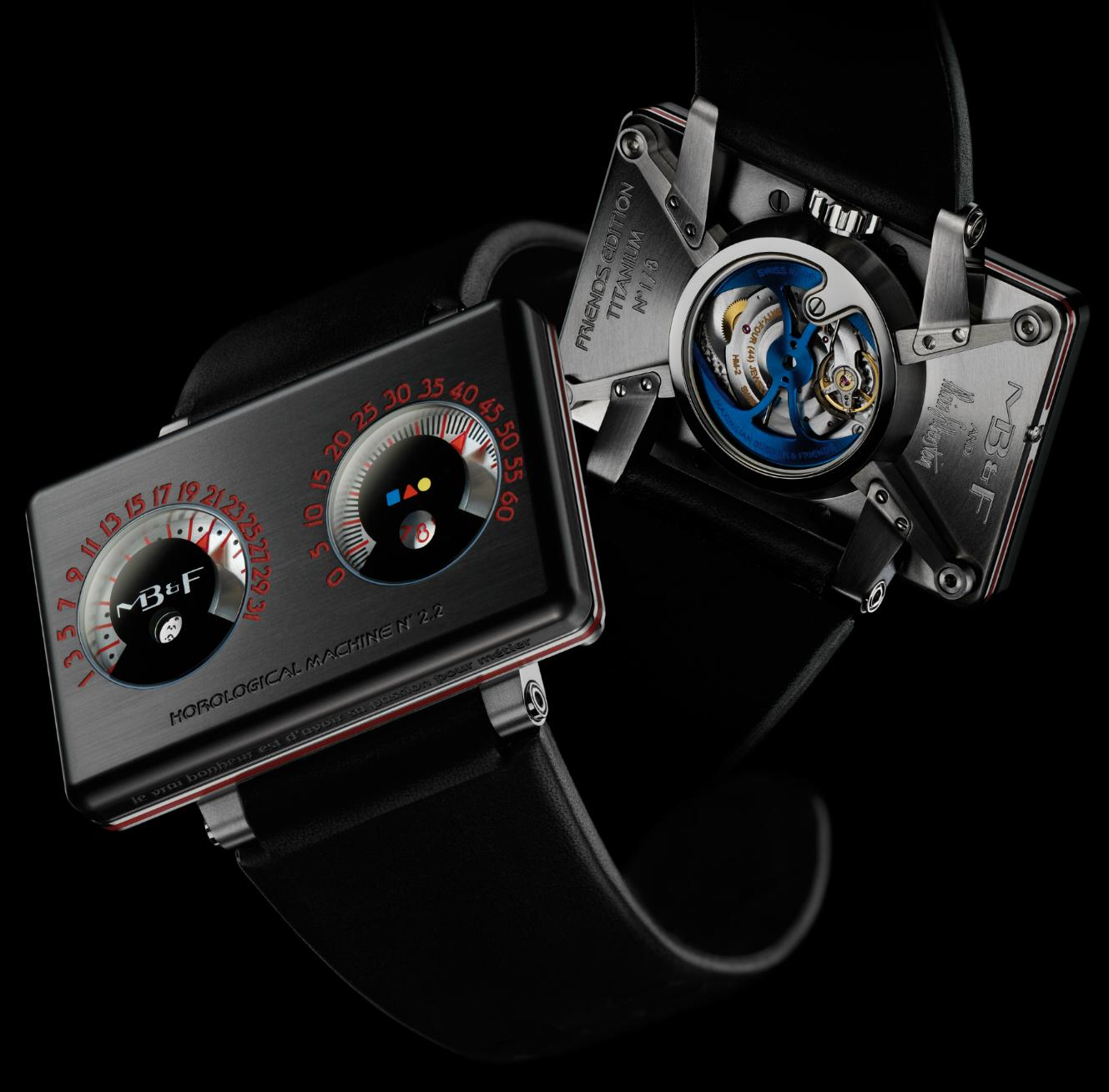 MB&F and Alain Silberstein – Horological Machine No. 2 HM2